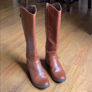 Merona knee high boots, Sz 8